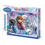 Puzzle  Clementoni-27913 Eiskönigin
