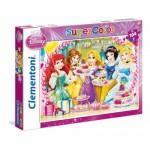 Puzzle  Clementoni-27914 Disney Prinzessinnen - Königliche Teeparty