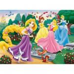 Puzzle  Clementoni-29660 Rapunzel und ihre Freunde