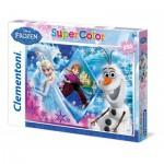 Puzzle  Clementoni-29711 Eiskönigin