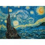 Puzzle  Clementoni-30314 Van Gogh: Sternennacht