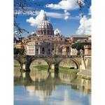 Puzzle  Clementoni-30344 Tiber, Rom