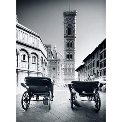 Puzzle Clementoni-30347 Schwarzweißes Florenz