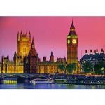 Puzzle  Clementoni-30378 Abendstimmung in London