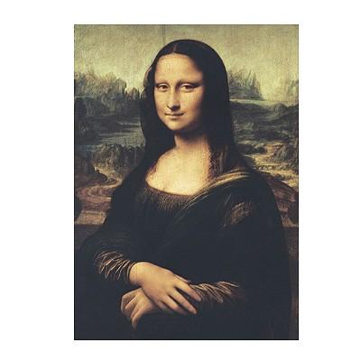 Puzzle Clementoni-31413 Leonardo da Vinci: Mona Lisa