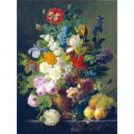 Puzzle  Clementoni-31415 Van Dael: Vase mit Blumen