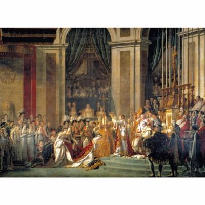 Puzzle Clementoni-31416 Die Konsekration Napoleons
