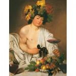 Puzzle  Clementoni-31445 Il bacco, Caravaggio