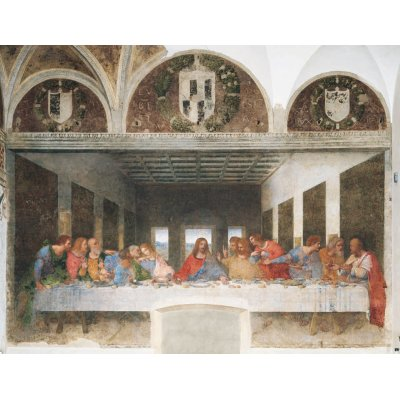 Puzzle Clementoni-31447 Leonardo da Vinci: Das Abendmahl