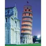 Puzzle  Clementoni-31485 Der schiefe Turm von Pisa, Italien