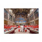 Puzzle  Clementoni-31598 Papst Franziskus