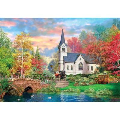 Puzzle Clementoni-31675 Dominic Davison: Bunter Herbst