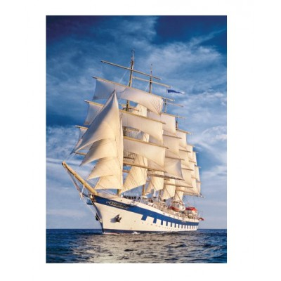 Puzzle Clementoni-31998 Das große Segelschiff