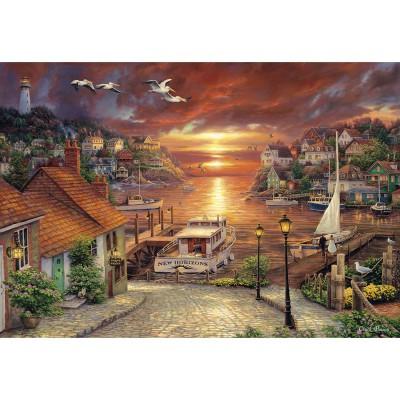 Puzzle Clementoni-32548 Neue Horizonte