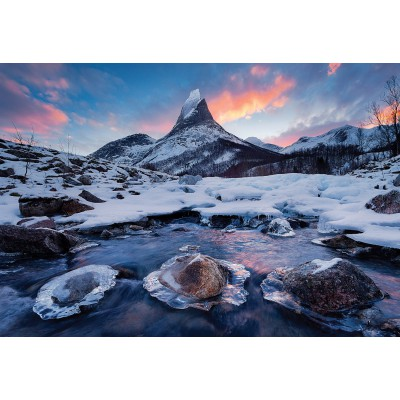 Puzzle Clementoni-32556 Stetind, Norwegen
