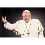 Puzzle  Clementoni-35007 Papst Franziskus