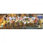 Puzzle  Clementoni-39004 Schneewittchen und die 7 Zwerge