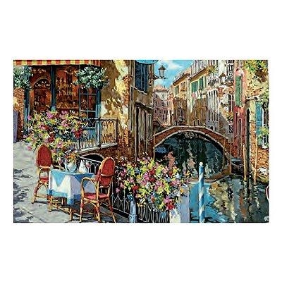 Puzzle Clementoni-39164 Italienisches Restaurant am Wasser