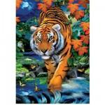 Clementoni-39185 Puzzle 1000 Teile 3D - Im Dschungel