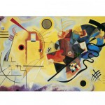Puzzle  Clementoni-39195 Kandinsky: Gelb-Rot-Blau
