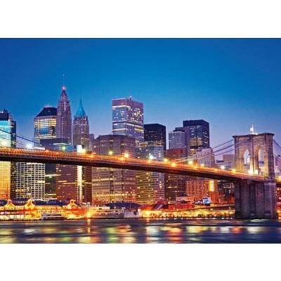 Puzzle Clementoni-39199 Brooklyn Bridge, New York