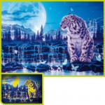 Clementoni-39211 Puzzle 1000 Teile fluoreszierend - Memory of the Earth
