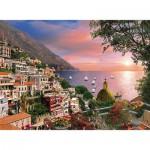 Puzzle  Clementoni-39221 Dominic Davison: Romantic Italy - Positano