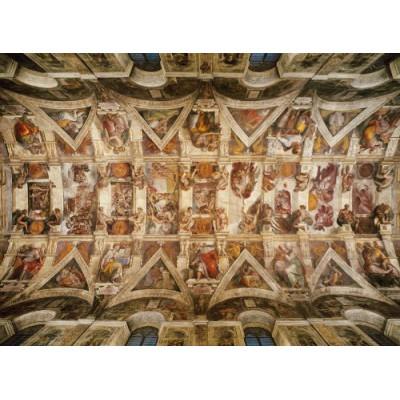 Puzzle Clementoni-39225 Michelangelo - Deckenfresken der sixtinischen Kapelle