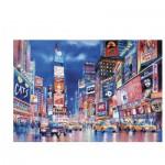Puzzle  Clementoni-39249 Die Lichter New Yorks