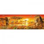Puzzle  Clementoni-39259 Afrikanische Savanne