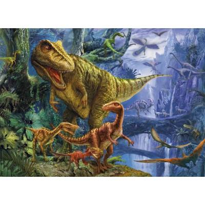 Puzzle Clementoni-39261 Tal der Dinosaurier