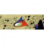 Puzzle  Clementoni-39264 Frau und Vogel