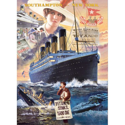 Puzzle Clementoni-39271 Titanic