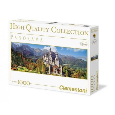 Puzzle Clementoni-39283 Neuschwanstein