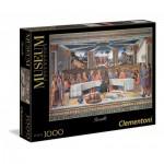 Puzzle  Clementoni-39289 Rosselli - Das Letzte Abendmahl