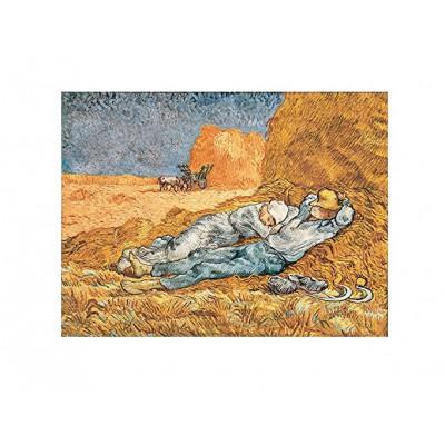 Puzzle Clementoni-39290 Van Gogh Vincent : Mittagsrast