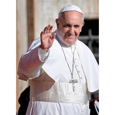 Puzzle Clementoni-39299 Pope Francis
