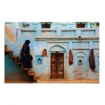 Puzzle  Clementoni-39311 National Geographic - Pastell Fassade