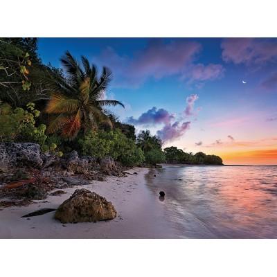 Puzzle Clementoni-39337 Tropische Idylle
