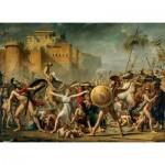 Puzzle  Clementoni-39345 Jacques-Louis David: Raub der Sabinerinnen