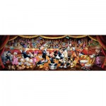 Puzzle  Clementoni-39347 Disney - In der Oper