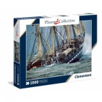 Puzzle  Clementoni-39350 Plisson - Belem, the last French Tall ship