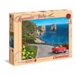 Puzzle  Clementoni-39357 Dominic Davison: Romantic Italy - Capri