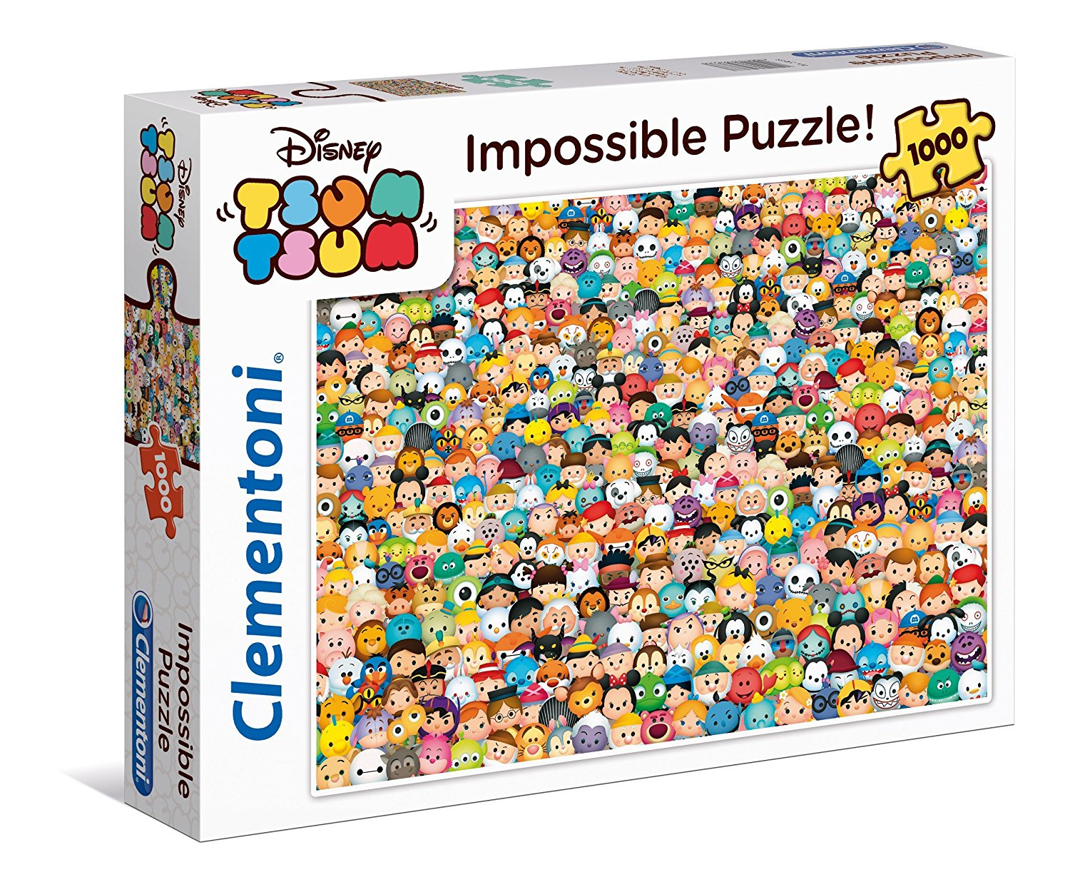 disney tsum tsum impossible puzzle 1000 teile clementoni puzzle online kaufen. Black Bedroom Furniture Sets. Home Design Ideas