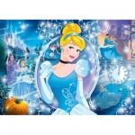 Puzzle mit Glitzer-Effekt - Disney Princess