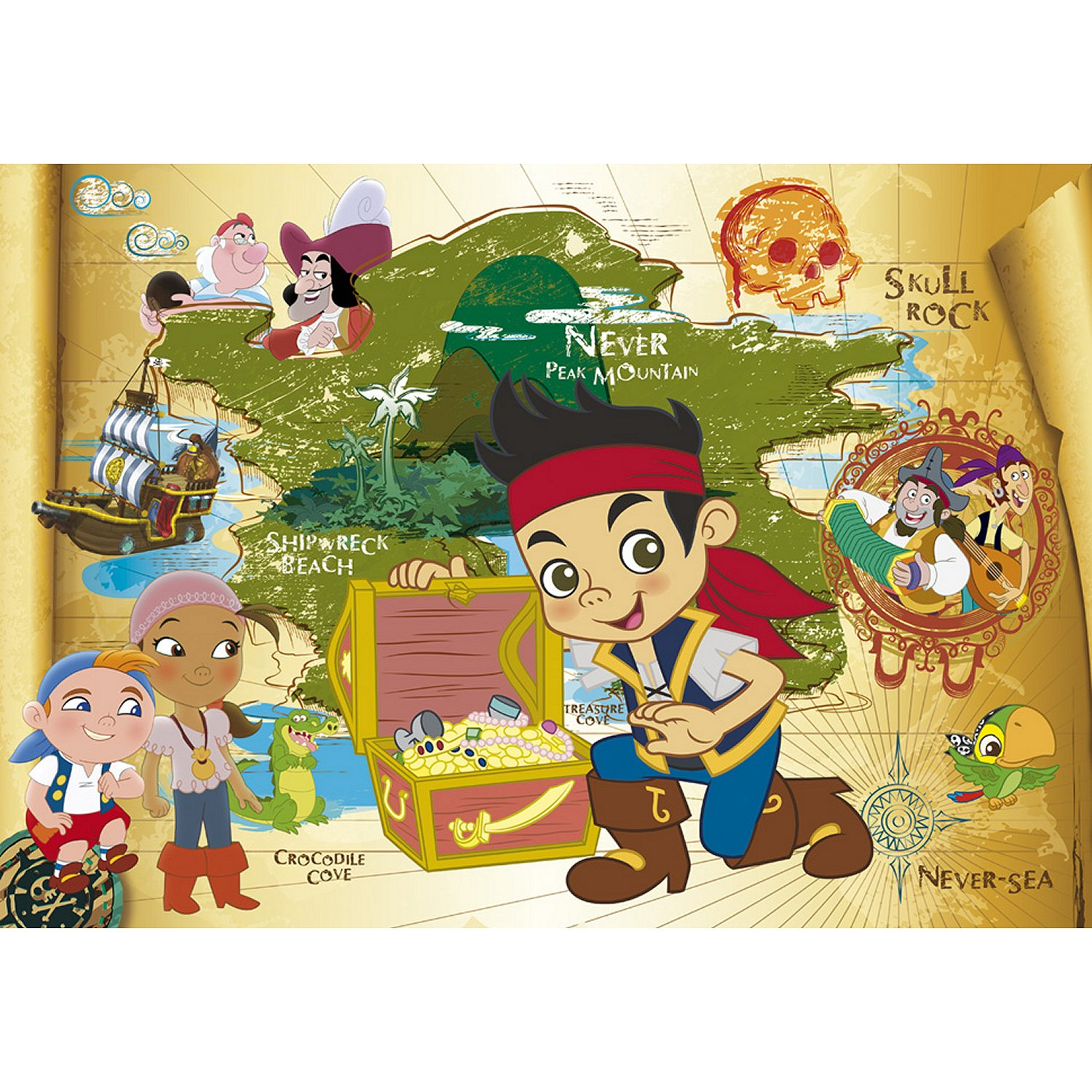 jake und die nimmerland piraten puzzle
