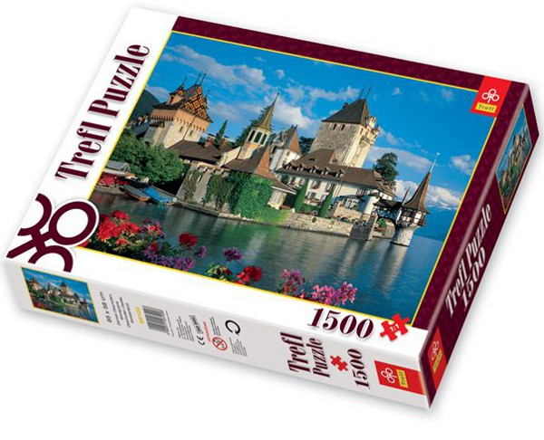schloss oberhofen schweiz 1500 teile trefl puzzle. Black Bedroom Furniture Sets. Home Design Ideas