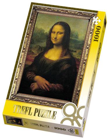 Puzzle Trefl-10002 Mona Lisa