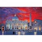 Puzzle  Trefl-10172 Petersdom, Rom