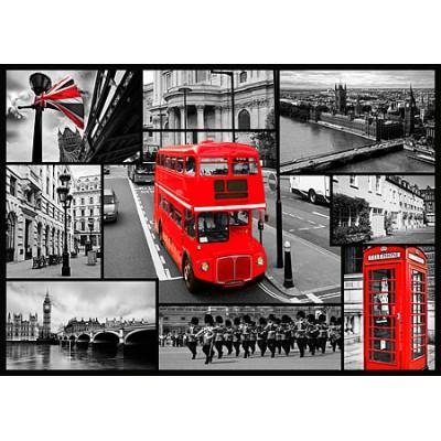 Puzzle Trefl-10278 London Collage